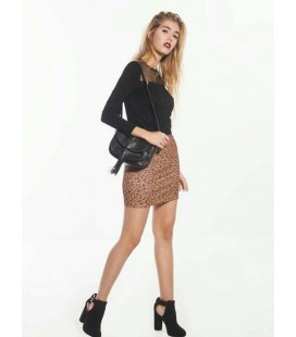 FALDA ANIMAL PRINT SHORT